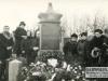 Grób rodziny Biernackich w którym zakopany jest słoik z ziemią z Oświęcimia. Na grobie znajduje się tablica pamiątkowa Aleksandry Biernackiej, która zmarła na Tyfus dwa tygodnie przed wyzwoleniem obozu. - ze zbiorów Jadwigi Zaluskiej - http://garwolin.artlookgallery.com/grobonet/start.php?id=detale&idg=8062&inni=0&cinki=5