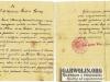15. List od Wójta Gminy Wilga do sołtysa wsi Goźlin Górny - wrzesień 1928. Udostępnił Lewiński Adrian