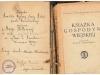 23. Dedykacja z książki - nagrody dla Marianny Girtler z domu Muchowicz (17 marca 1888 - 23 listopada 1960). Udostępniła Katarzyna Girtler