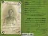 16. Legitymacja kolejowa z 1912 roku Marianny Wdowickiej z domu Gertruda z Sobolewa. Udostępniła Maryla Zackiewicz