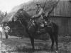 1. Antoni Koronka - strzelec konny 1 PSK - rok 1936. Zdjęcie udostępnił M. Tomaszek