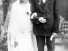9. Zdjęcie ślubne Filipiny Koronkównej z Franciszkiem Boguszem. Rok 1929. Zdjęcie udostępnił M. Tomaszek