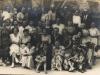 Zdjęcie z wycieczki z podziemi Wawelu. Znam  jedynie dziadka.  Udostępniła Lilianna Jaworska Kustwan
