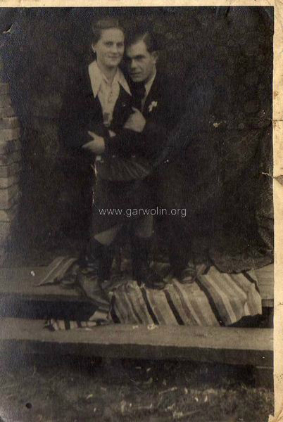 Koniec lat 40-tych XX wieku, Pilawa. Ze zbiorów Krzysztofa Gawrysia