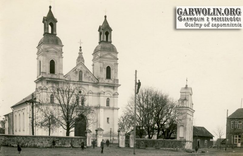 7. Łaskarzew kościół. Źródło internet.