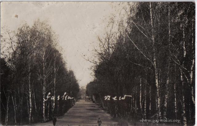 3. Łaskarzew w 1932 roku. Źródło: www.psl.garwolin.pl