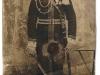 31. Żołnierz 13 Pułku Dragonów im. Hrabiego Münnicha. Pułk ten stacjonował w garwolińskich koszarach w latach 1892-1914. Fotografia datowana na ~1900 rok. Znalezione przez Pawła na wykop.pl