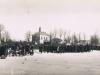 45. Pogrzeb, kaplica cmentarna, i stodoły na ul. Stodolnej (ul. Mazowiecka). Ze zbiorów K.Kot