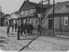 105. Ćwiczenia OSP Garwolintylko nie wiadomo na jakiej ulicy, na pewno w Garwolinie, 1934 rok prawdopodobnie.