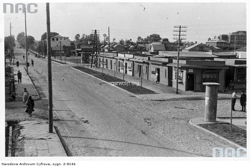 10. Centrum rok 1942 - obecnie tzw.