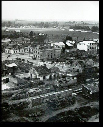 15. Ulica Kościuszki, skrzyzowanie z Polska. Tzw. Stare Pks-y. Rok 1939. Źródło internet