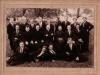 14. Ks. M. Juszczyk z ks. A. Święcickim wśród dżentelmenów z Garwolina dnia 14 IX 1932 roku. Obok księży siedzą inni księża prawdopodobnie służący w 1932 roku w par. Garwolin. Zdjęcie udostępnił - W. Sowa