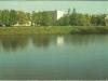 Garwolin 1986 Widok znad rzeki Wilgi. Ze zbiorów K. Siarkiewicza.