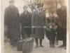 1. Stacja w Rudzie Talubskiej, w tle widzimy wieżę wodną z okresu międzywojennego. Stacja przed 1917 rokiem nazywała się