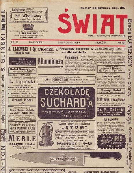 Wystawa koni w Garwolinie 26 luty 1908 rok.