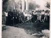 2. Wanaty, 22 lipca 1959 - odsłonięcie  pomnika ku czci ofiar pomordowanych w dniu 28 lutego 1944 roku.  Zdjęcie udostępnił T. Rękawek