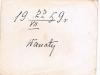 1. Wanaty, 22 lipca 1959 - odsłonięcie  pomnika ku czci ofiar pomordowanych w dniu 28 lutego 1944 roku.  Zdjęcie udostępnił T. Rękawek