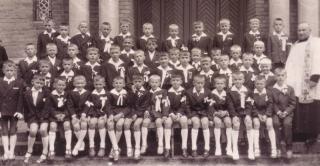 1. I Komunia św. w Wildze - 8 lipca 1962. Fotografie udostępnił T.Lidzbarski