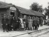 3. Stacja kolejowa - 1938. Zdjęcie udostępniła Magdalena Koźlak.