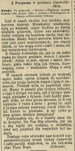 128. Gazeta Świąteczna nr 596 1892