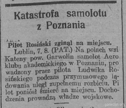103 Goniec Wielkopolski 1930 08 08 r 54 nr182
