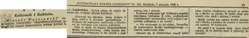 90 Ilustrowany Kuryer Codzienny 1938 nr 216 7 VIII
