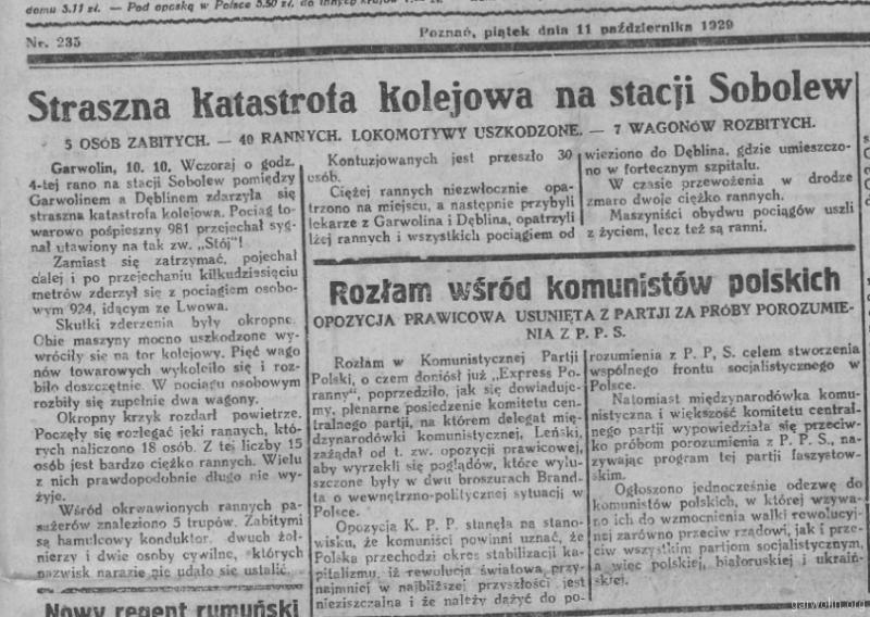 108 Nowy Kurjer 1929 10 11 r 40 nr235