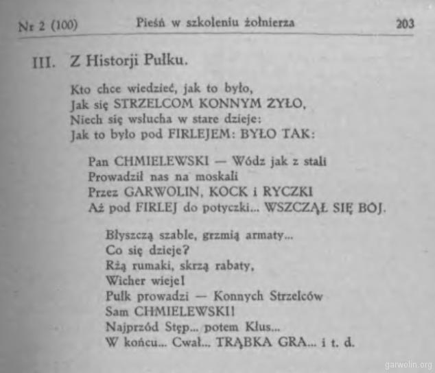 114 Przegląd Kawaleryjski 1934 r 11 nr2
