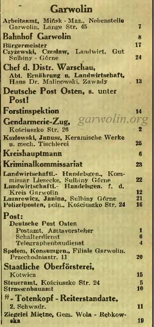 ksiazka telefoniczna 1940 - garwolin kopia