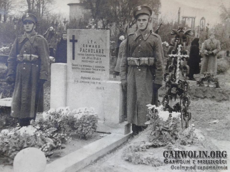 Grób Marcina Pawlika na garwolińskim cmentarzu parafialnym