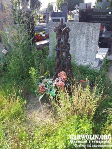 Aktualne zdjęcie grobu Marcina Pawlika