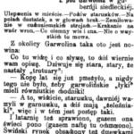 Polemika prasowa na temat Garwolina (1904)
