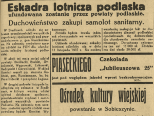 eskadra lotnicza Podlasia