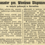 Generał Bolesław Wieniawa-Długoszowski z wizytą w Garwolinie