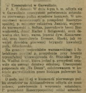 Wojciechowski w Garwolinie