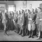 Kadra oficerska 1. Pułku Strzelców Konnych