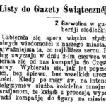 Pielgrzymi w powiecie garwolińskim (1905)