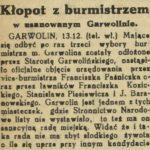 Jak Franciszek Paśniczek został burmistrzem