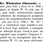 Ks. Władysław Wachowicz (1844-1915) - proboszcz z Parysowa