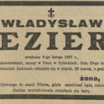 Władysław hr. Jezierski z Sobień-Jezior