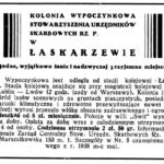 Osiedle wypoczynkowe w Łaskarzewie