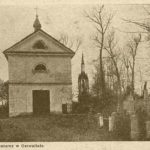 Uroczystość Bożego Ciała na cmentarzu w Garwolinie (1860)