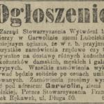 Cech kuśnierski w Garwolinie, lata 20. XX w.
