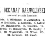 Dekanat garwoliński na początku XVII w. Cz. 2. Glinianka