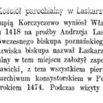 Dekanat garwoliński na początku XVII w. Cz. 5. Łaskarzew