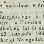Ks. Józef Burzyński z Maciejowic