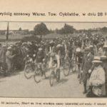 Wyścigi cyklistów w Garwolinie