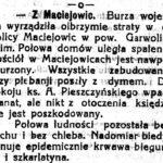 Maciejowice w 1915 r.