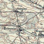 Borowie, Brzuza, Jaźwiny w 1841 r.