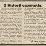 Garwolińscy esperantyści